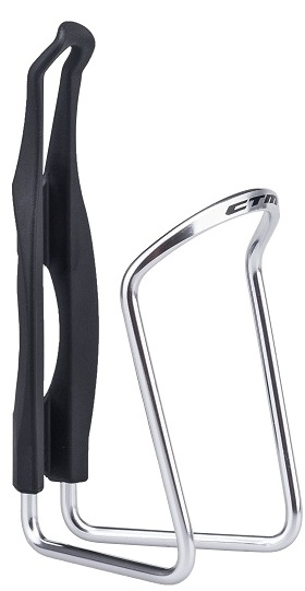 Suport bidon hidratare CTM DALE negru/argintiu