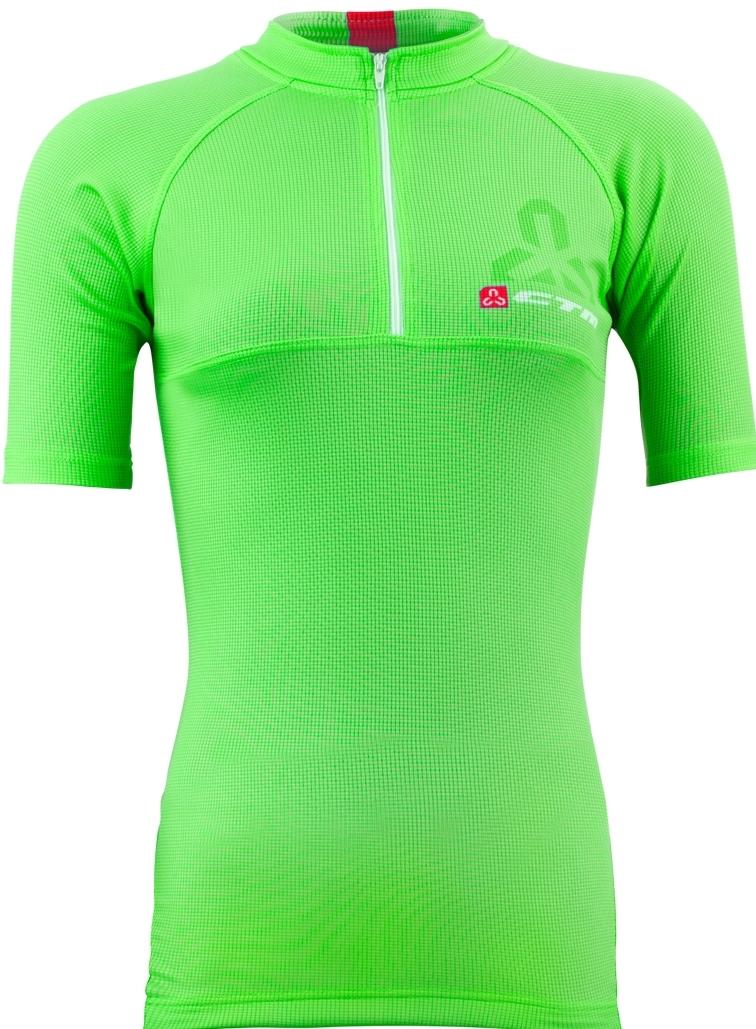 Tricou ciclism dama CTM FLOW verde