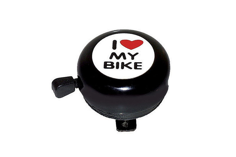 Sonerie I Love My Bike M-Wave negru