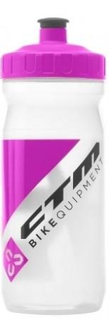 Bidon hidratare CTM 600 ml alb/siclam
