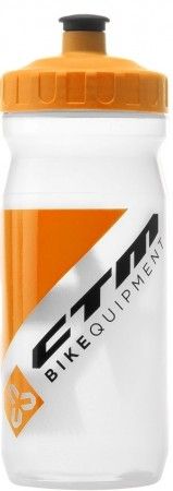 Bidon hidratare CTM 600 ml alb/orange