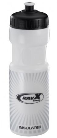 Bidon hidratare RAVX Stream X Termic 500ml alb/negru