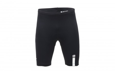 Pantaloni ciclism CTM SNUG negru/alb