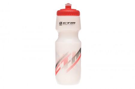 Bidon hidratare CTM 700 ml alb/rosu