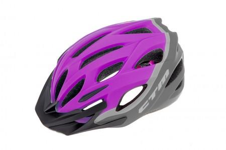 Casca CTM LOOP violet/gri