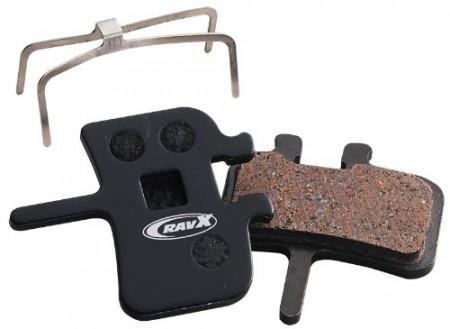 Placute frana RAVX AVID semi-metalic