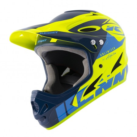 KENNY CASCA FULL FACE DOWNHILL Blue Neon Yellow 2021