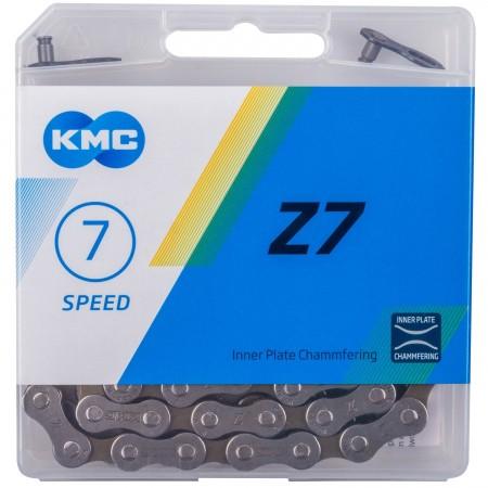 Lant KMC Z7, 7 pinioane 116 zale