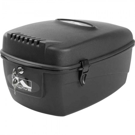Cutie portbagaj M-WAVE 17 litri negru