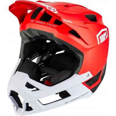 TRAJECTA All Mountain/Enduro Helmet Red G