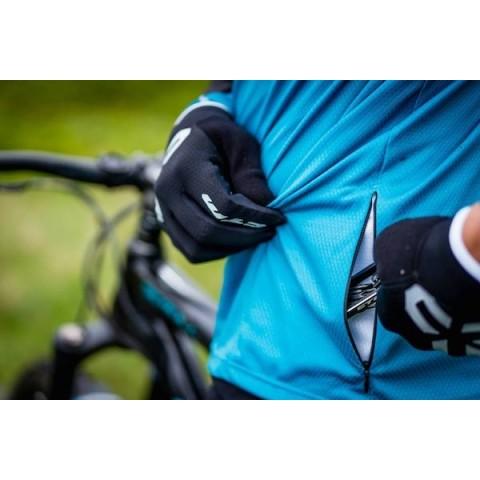 Tricou ciclism CTM ENDURO negru/albastru