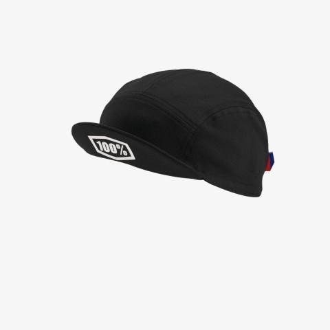 EXCEEDA Road Cap - Solid Black EXCEEDA Road Cap Solid Black Lycra Kits