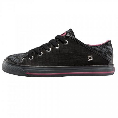 Incaltaminte FOX G-E-FOOTWEAR WOMENS MAJESTIC LOW BLACK/PINK