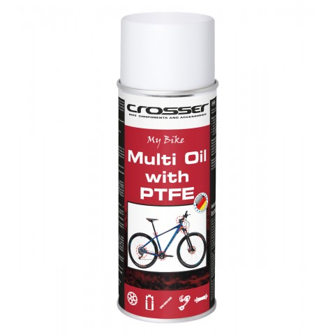 Spray intretinere CROSSER My Bike Multi Oil with PTFE 400ml aerosol
