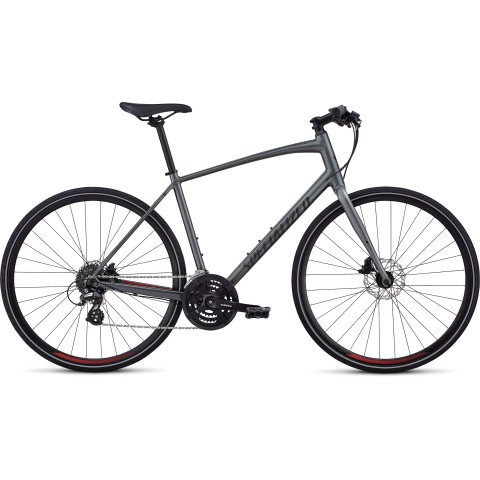 Bicicleta SPECIALIZED Sirrus - Men's Spec - Charcoal/Candy Red/Black XL