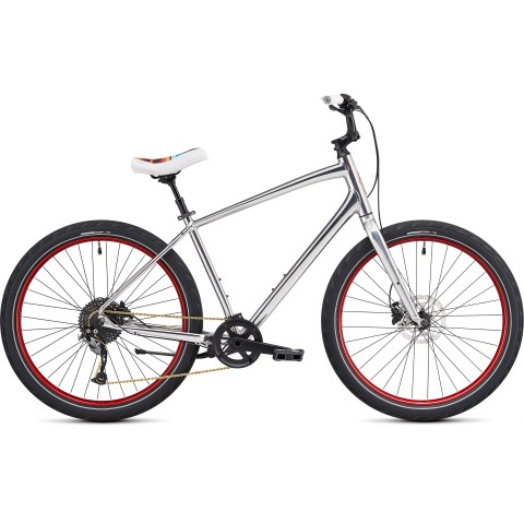 Bicicleta SPECIALIZED Roll Elite LTD II - Gloss Chrome/Red S
