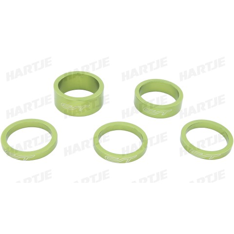 Distantiere furca CONTEC Spacer Set Select 1 1/8 - Verde