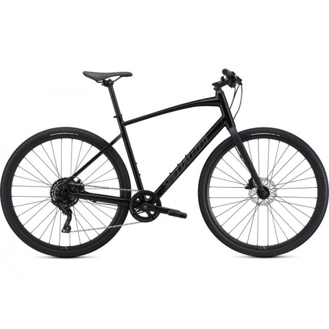 Bicicleta SPECIALIZED Sirrus X 2.0 - Black/Satin Charcoal Reflective M