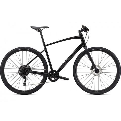 Bicicleta SPECIALIZED Sirrus X 2.0 - Black/Satin Charcoal Reflective L
