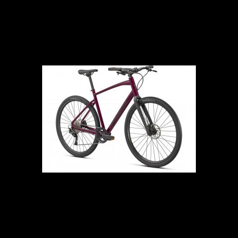 Bicicleta SPECIALIZED Sirrus X 3.0 - Gloss Raspberry/Tarmac Black/Satin Black Reflective - XXS