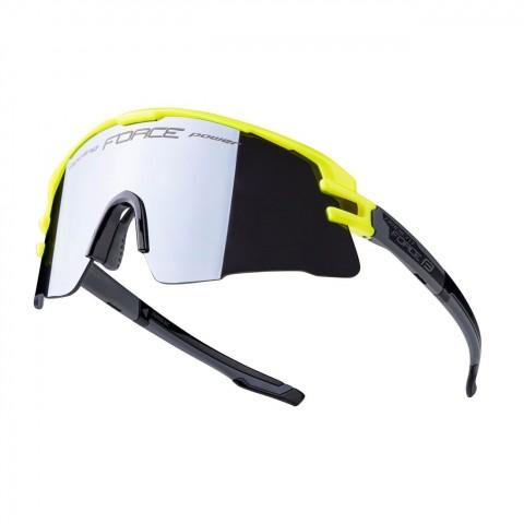 Ochelari Force Ambient, fluo/gri, lentila neagra