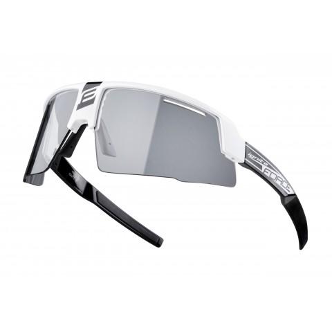 Ochelari Force Ignite, alb/negru, lentila fotocromata