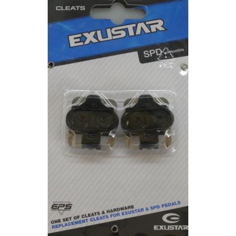 Placute pedale SPD EXUSTAR E-C05F