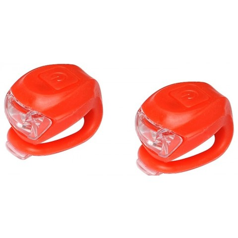 Set lumini far si stop CTM UFO 2 led rosu
