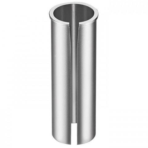 Adaptor tija sa CTM 30.0/27.2mm argintiu