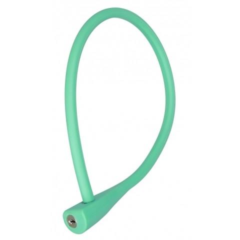 Antifurt cablu CTM SOFTY 10x600mm cu cheie verde