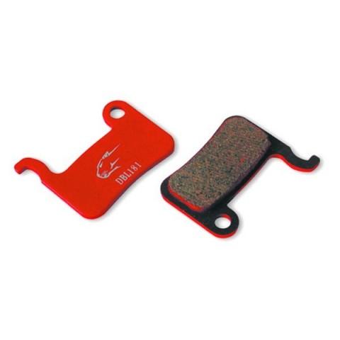 Placute de frana Jagwire DCA027 Shimano XT XTR SLX semi-metalice