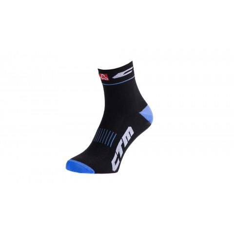 Sosete sport CTM XC negru/albastru