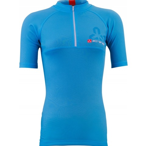 Tricou ciclism dama CTM FLOW albastru