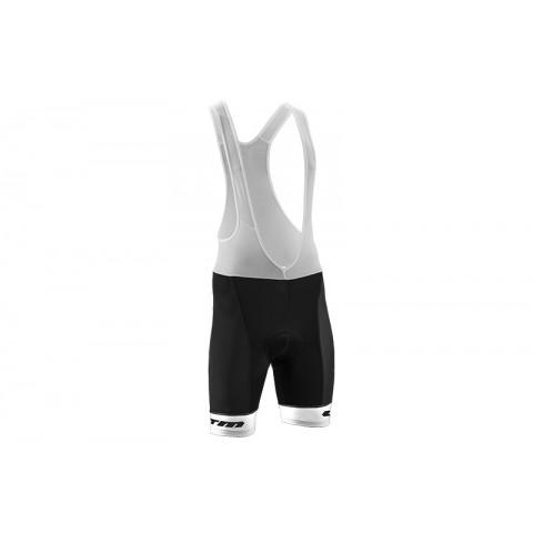 Pantaloni ciclism CTM RACE BIB SHORT alb