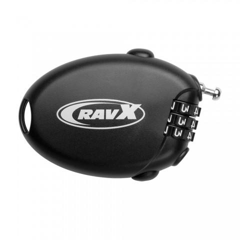 Antifurt cablu RAVX COMBO X POCKET cu cifru